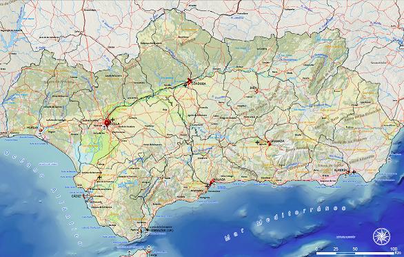 Mapa regonal