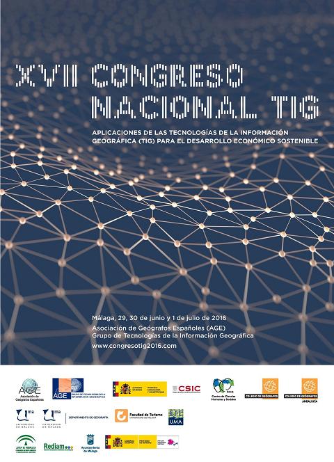 XVII Congreso Nacional de Tecnologías de la Información Geográfica