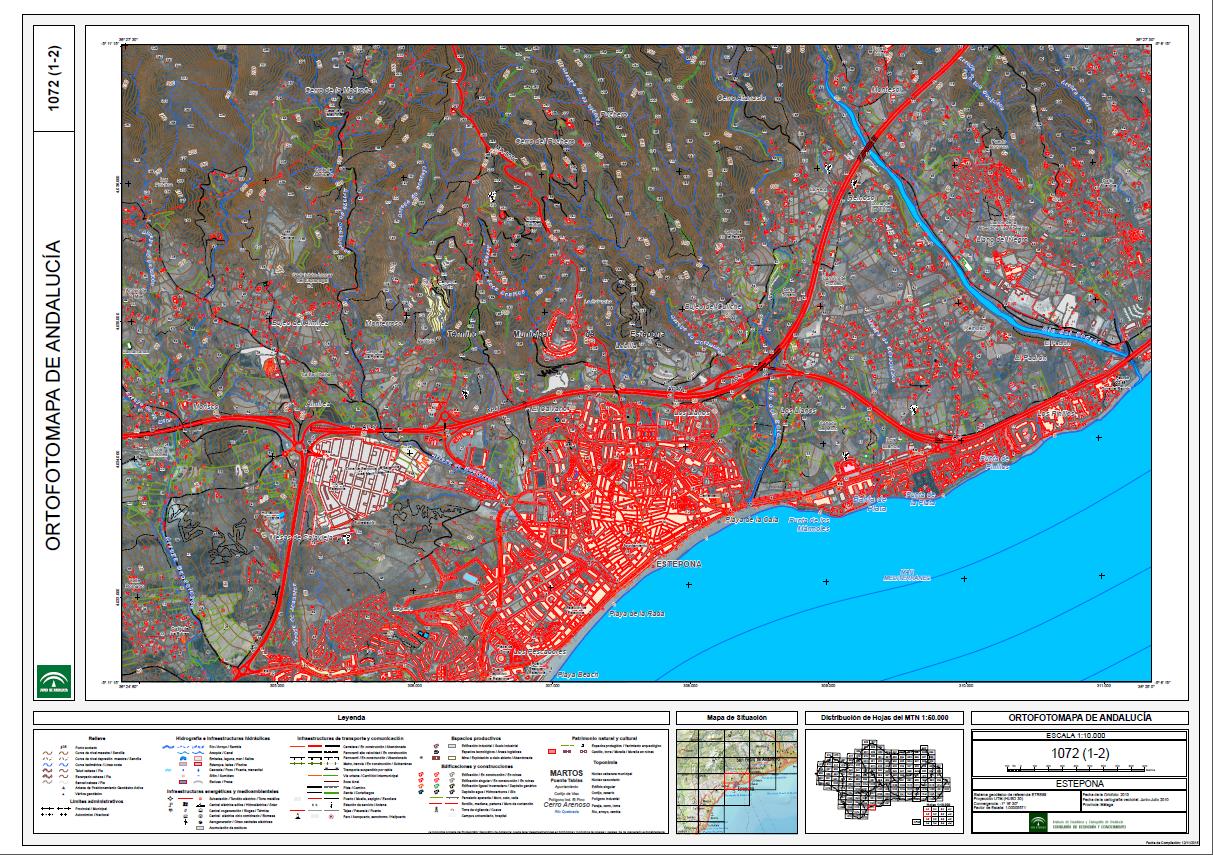 Ortofotomapa de Andalucía 2013
