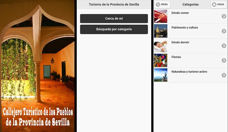 Callejero turístico de la provincia de Sevilla