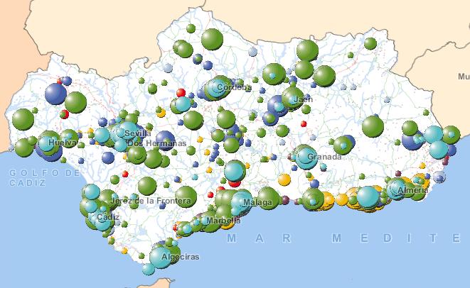 Geolocalización de Establecimientos de 50 o más Asalariados (Directorio de Empresas y Establecimientos)