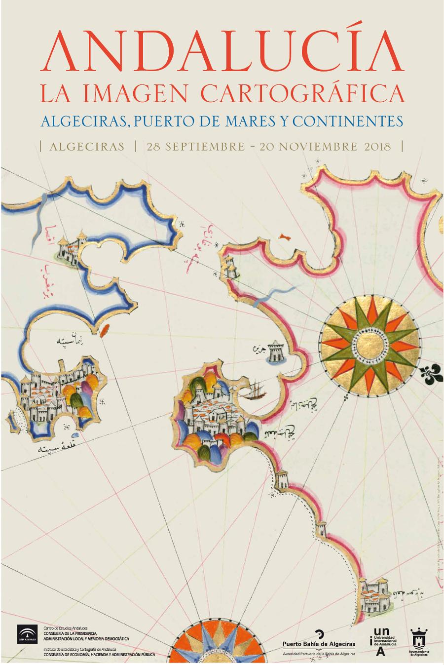 Andalucía, la imagen cartográfica. Algeciras, puerto de mares y continentes