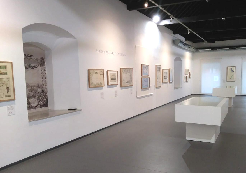 Sala en la Exposición de Algeciras