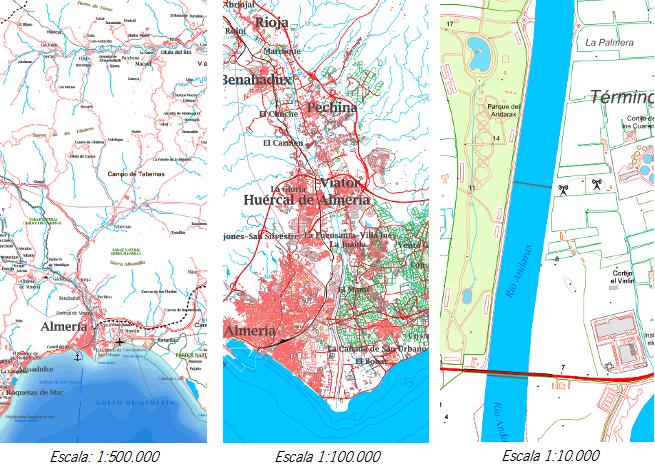 Visualización del Mapa Multiescala con el Software QGIS