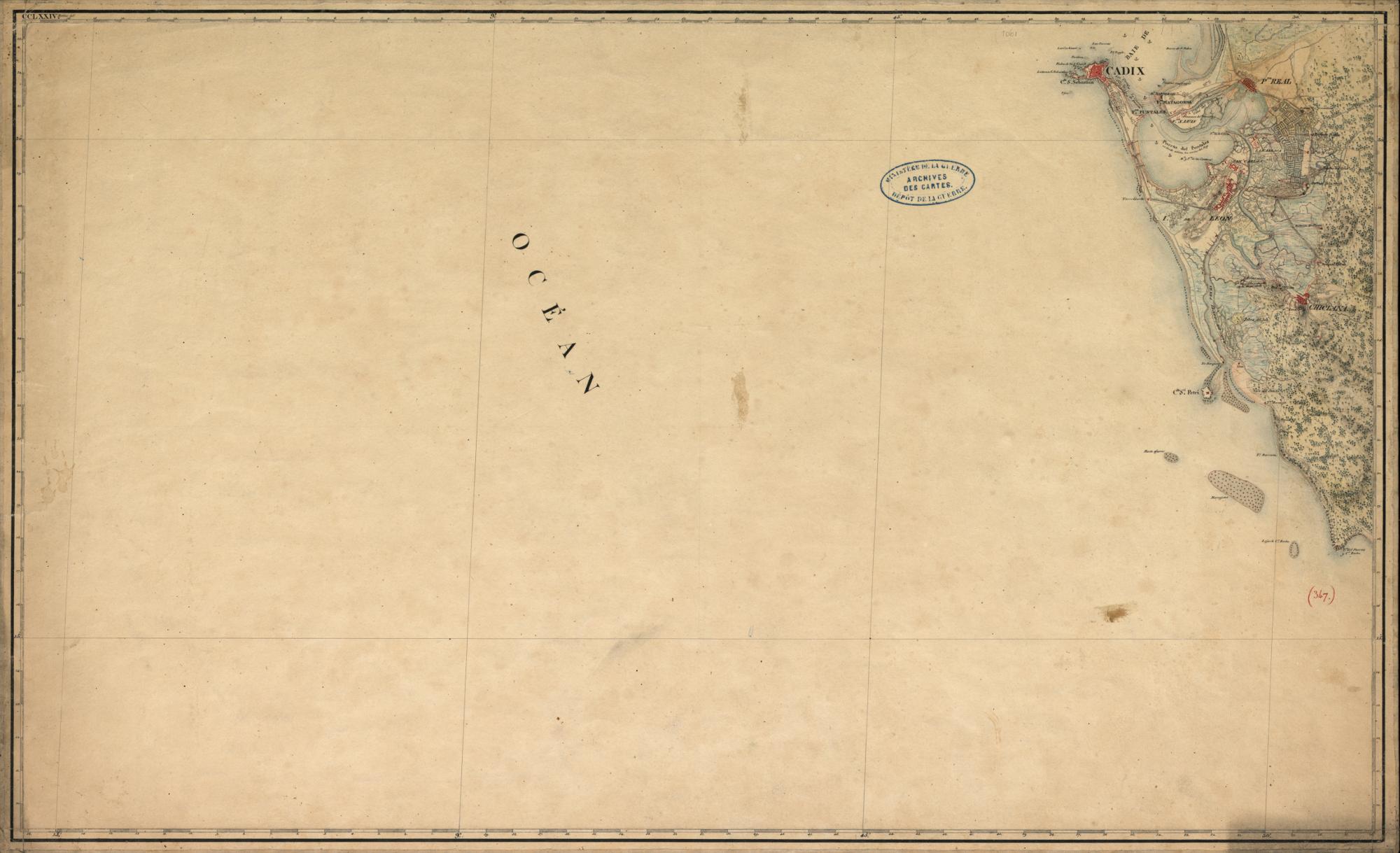 el proyecto del ejército francés - Cádiz