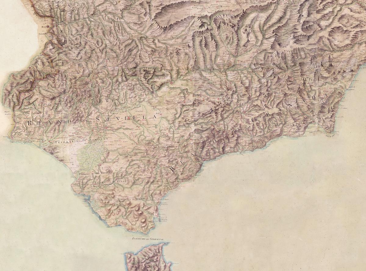 Mapa de los jesuitas