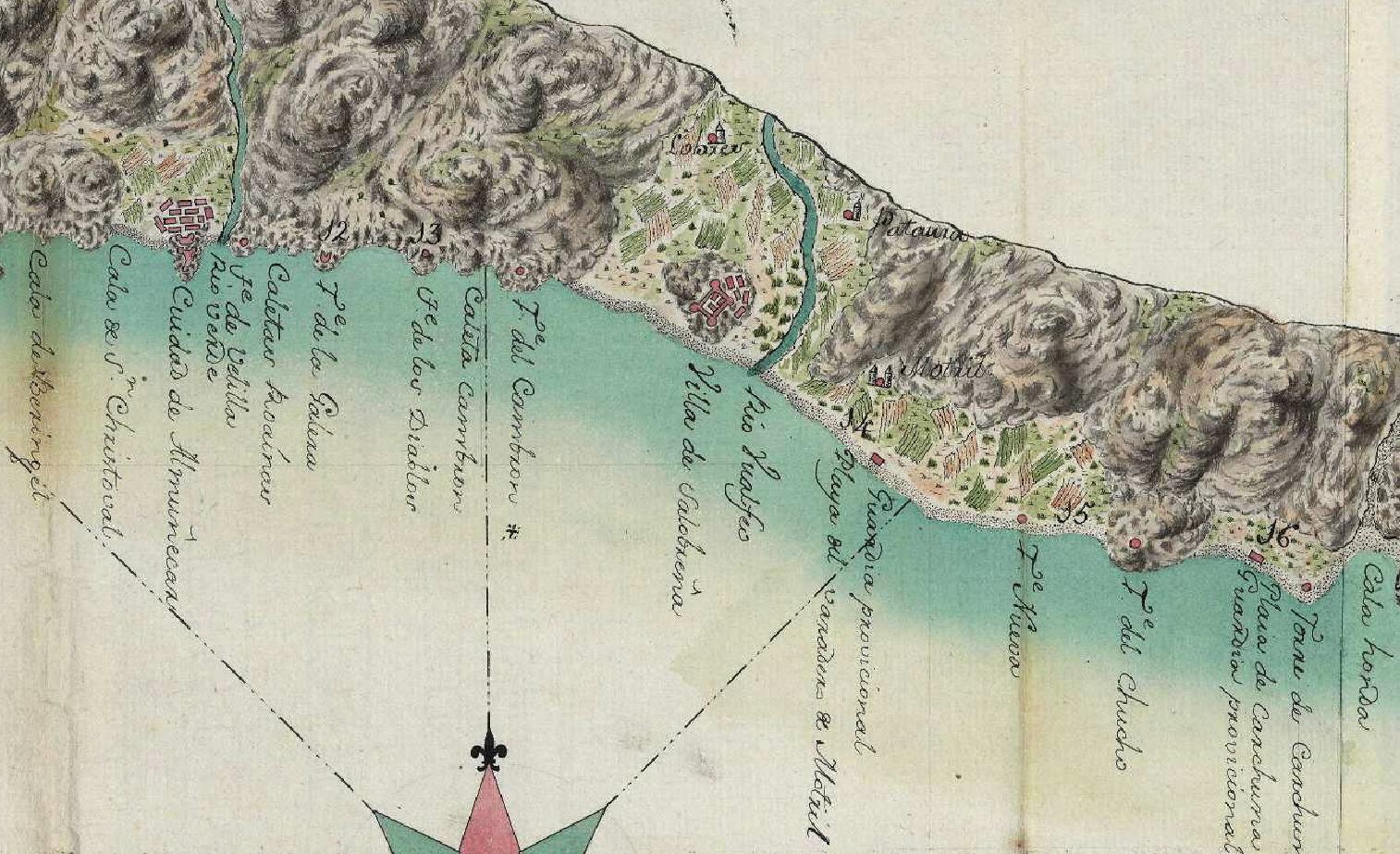 Jaime de Conca. Detalle sobre Salobreña