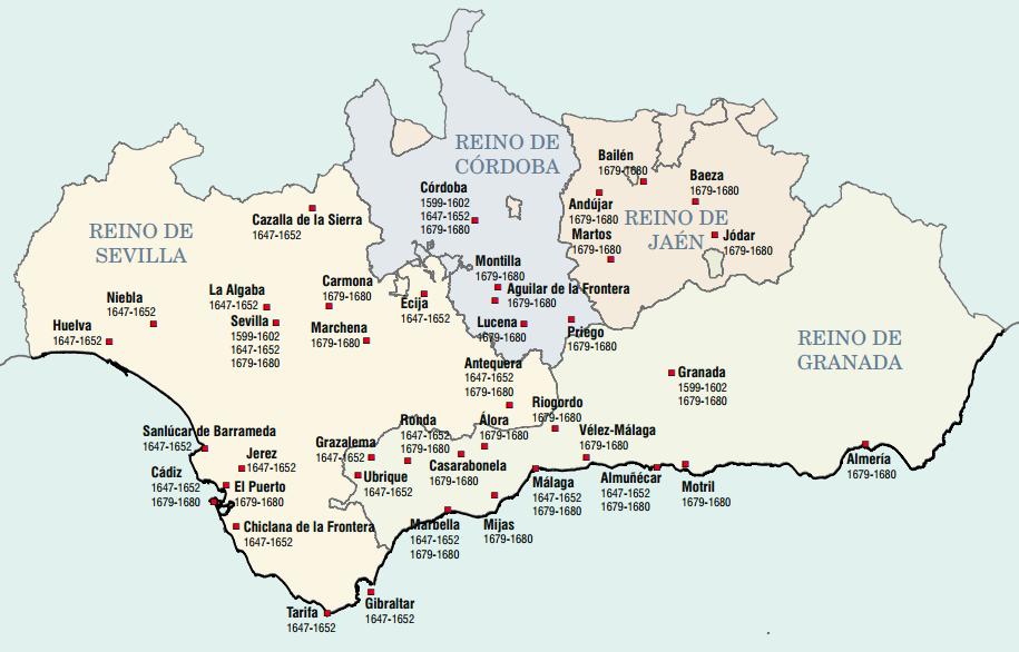 Epidemias del siglo XVII