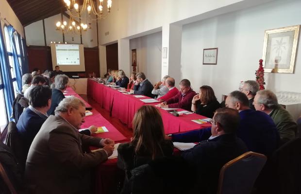 Encuentro con la diputaciones provinciales en Archidona el26 de noviembre de 2019