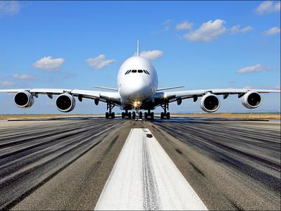 Pruebas en la trayectoria del AIRBUS 380