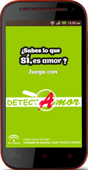 app detectamor movil