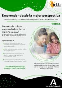Andalucía fomenta el emprendimiento femenino frente a la brecha de género: solo el 2% de las chicas espera trabajar en el ámbito de las TIC