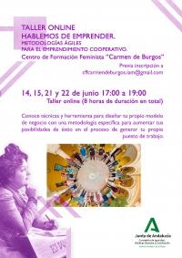 El centro Carmen de Burgos del IAM acoge en junio dos talleres online sobre emprendimiento y empleabilidad y una cata de aceite de oliva