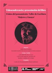 El IAM publica el libro de ensayos 'Frutos del pensamiento. Taller de escritura mujeres y ensayo' para visibilizar a las mujeres en la literatura