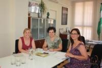 La directora del IAM recibe a la Asociación de Mujeres Politólogas