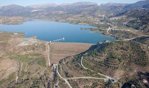 Los trasvases a la presa de la Viñuela-Axarquía ganan eficacia con las obras de emergencia