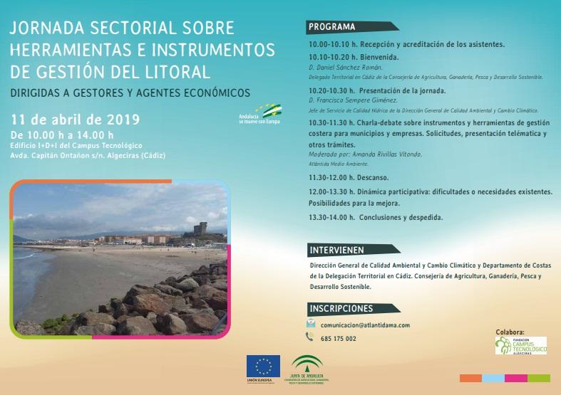 Plan de Comunicación de los instrumentos y herramientas de gestión del litoral en Andalucía