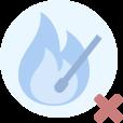 Colabora para evitar incendios. No arrojes cigarrillos o cualquier otro objeto que produzca combustión.