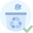 La basura no vuelve sola. Llévala contigo hasta el contenedor más próximo. Reduce, reutiliza, recicla.