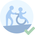 Facilitate use for people with special needs.
