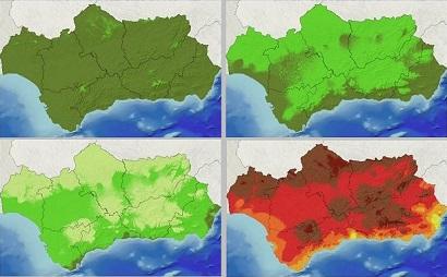 Escenarios climáticos en Andalucía