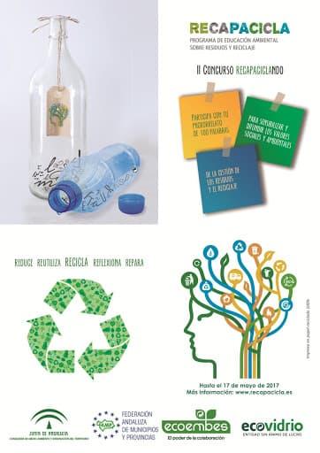 Concurso Recapaciclando: microrrelatos sobre residuos y reciclaje