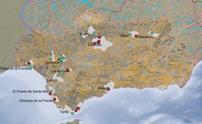 VISA: Visor del Inventario de Suelos de Andalucía
