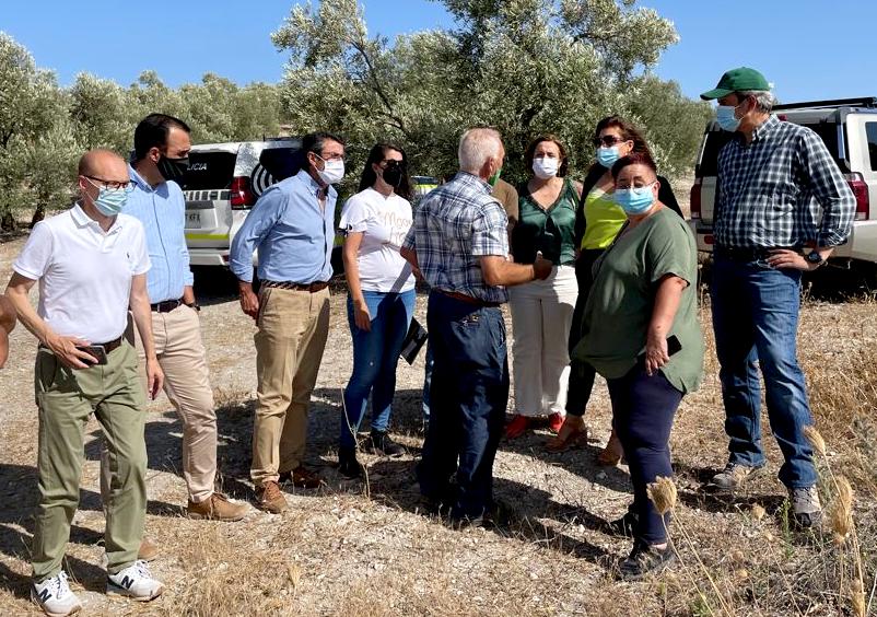 La consejera de Desarrollo Sostenible valora la contribución de los cazadores andaluces a la conservación ambiental