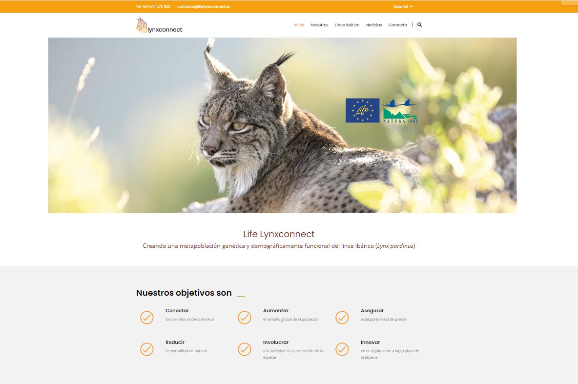 Desarrollo Sostenible activa una página web para dar a conocer e impulsar el proyecto LynxConnect