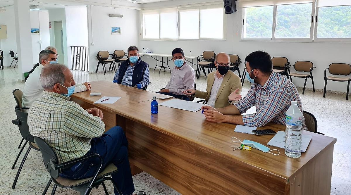 La Junta da los primeros pasos para diseñar las actuaciones de recuperación de Sierra Bermeja