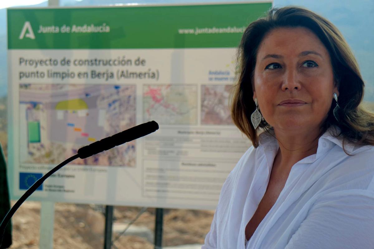 Arrancan las obras en Berja del primero de los cuatro nuevos puntos limpios previstos para Almería