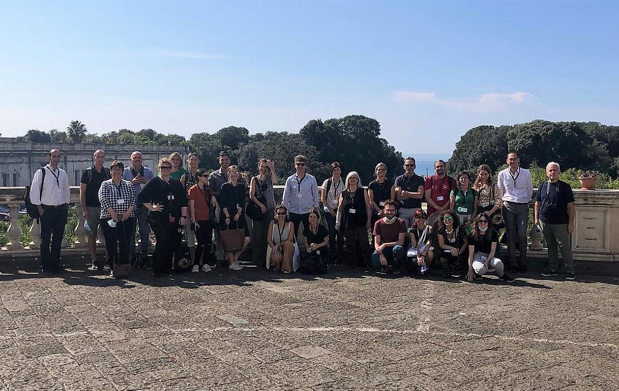 Grupo de expertos del  III Taller Regional Europeo sobre 'El papel de los centros de visitantes en lugares designados por la Unesco'