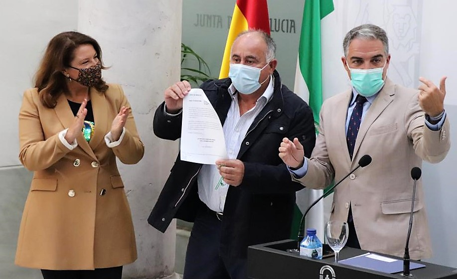 La Junta invierte 5,4 millones de euros en actuaciones para hacer frente a la situación de sequía en la comarca malagueña de la Axarquía