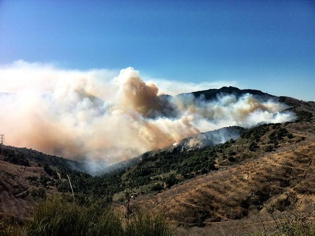 Cartografía de áreas recorridas por el fuego
