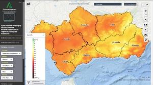 Conoce el Visor de escenarios climáticos en Andalucía