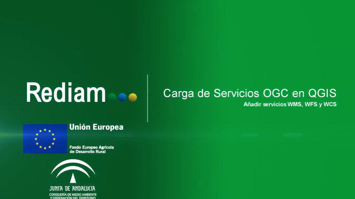 Carga de Servicios OGC en QGIS