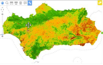 Imagen de Disponible nueva serie de Servicios WMS sobre imágenes satélite TERRA MODIS. NDVI para la temporada 2018