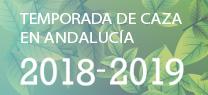 Temporada de Caza en Andalucía 2018-2019