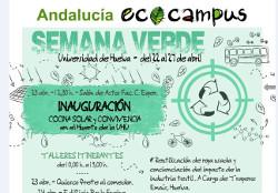 Semana verde de la Universidad de Huelva, 23 al 27 de Abril