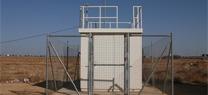 Cabina de medición de calidad de aire