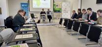 Reunión cicloturismo del proyecto Eco-cicle