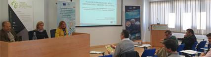 Jornadas sobre herramientas e instrumentos de gestión costera celebradas en abril en la Casa de la Cultura de Conil de la Frontera