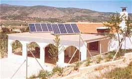 Planta Solar de receptor central CESA I, en la Plataforma Solar de Almería