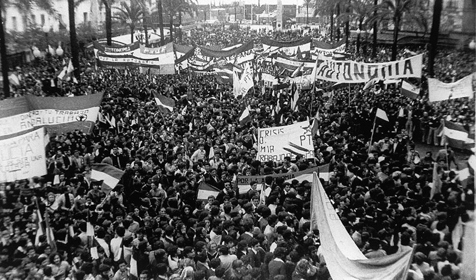 Manifestación Andalucia