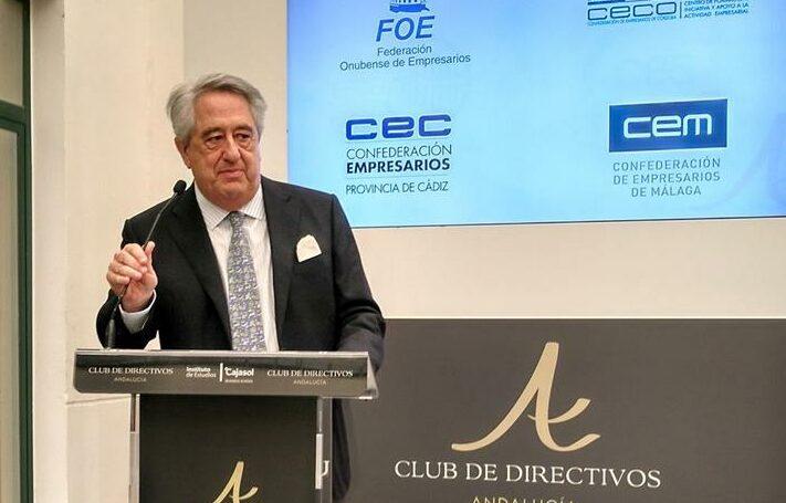 Javier Targhetta, consejero delegado de Atlantic Coper. (Foto: Europa Press)