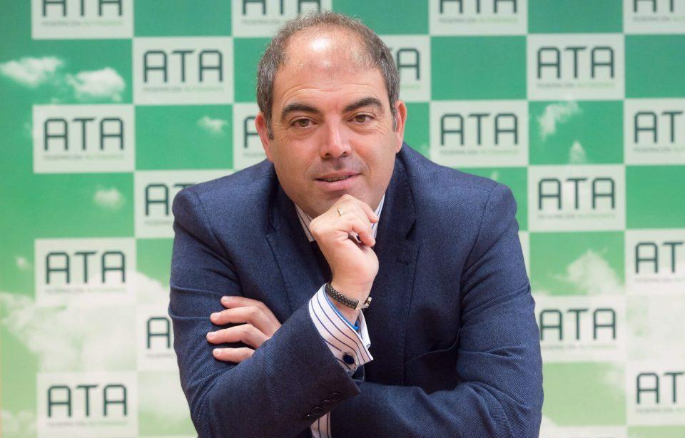 Lorenzo Amor, presidente de la Federación Nacional de Autónomos de España ATA.