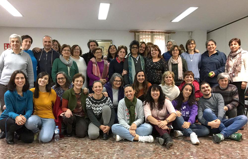 La congregación de las Hermanas Oblatas de Almería.
