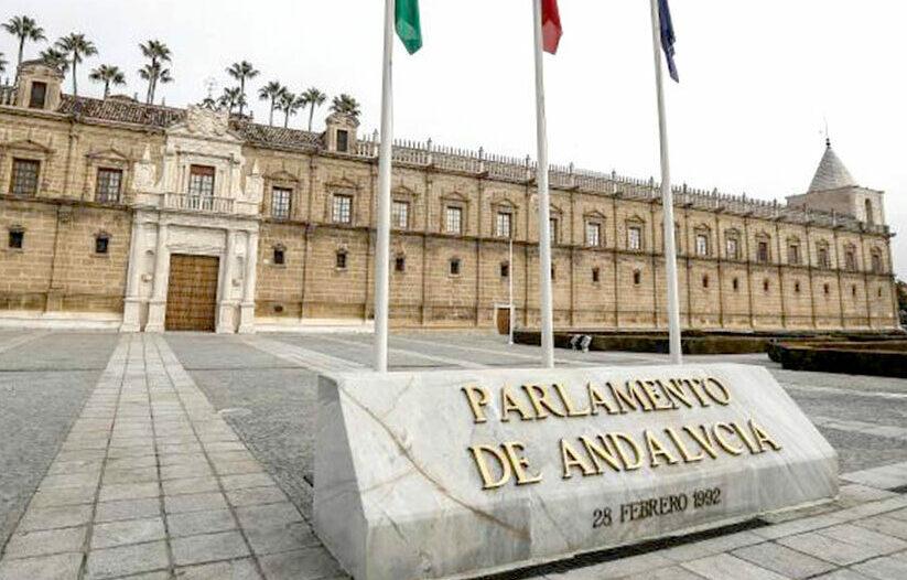 Sede del Parlamento de Andalucía en el antiguo Hospital de las Cinco Llagas. (Foto: EFE)