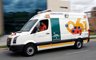 Cuatro heridos en una colisión entre dos coches en Alhaurín el Grande (Málaga)