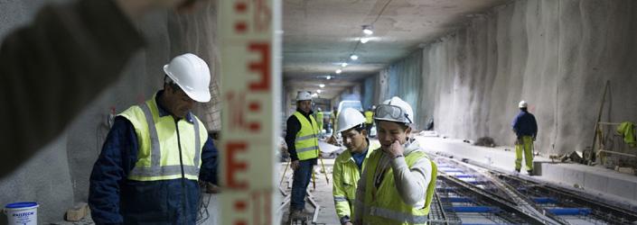 Con la construcción del metro, la ingeniería civil se pone al servicio del ciudadano, dando respuesta a sus necesidades de movilidad urbana.